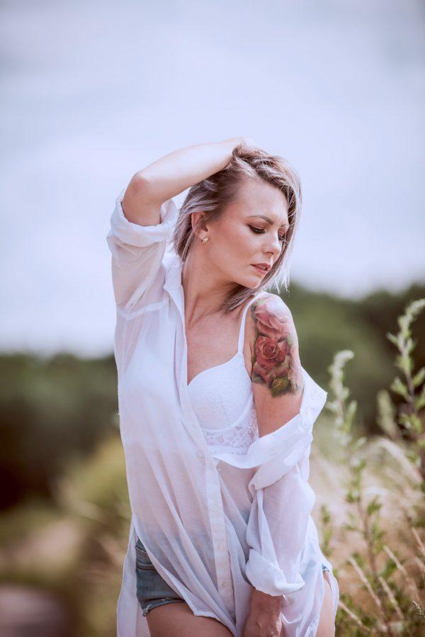 portret kobiety pixel tarnobrzeg