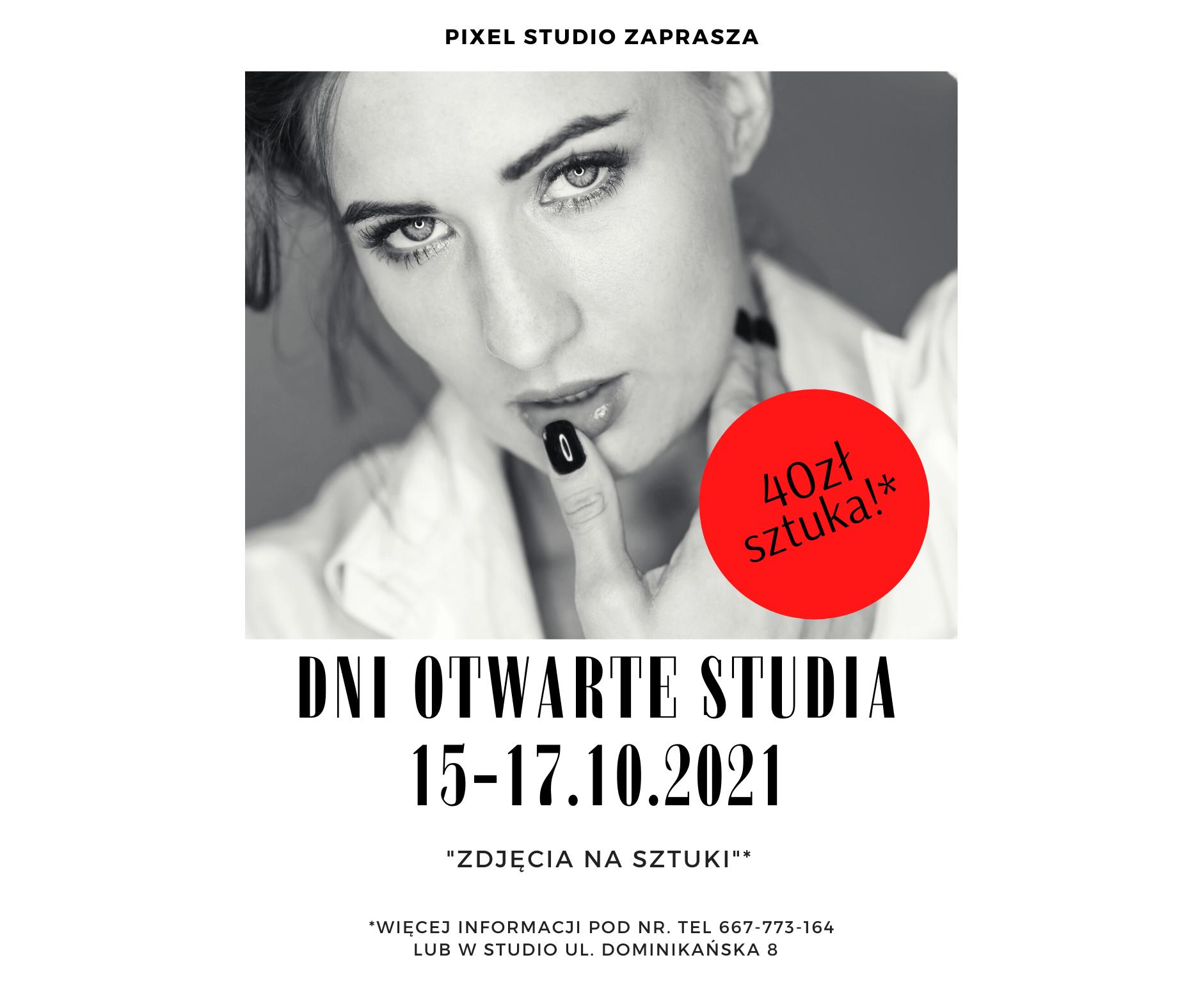 Dni Otwarte Pixel Studio 15 -17.X. 2021